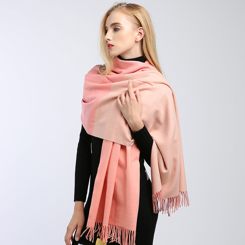 Winter women's scarf stoles collar cashmere scarf WS07