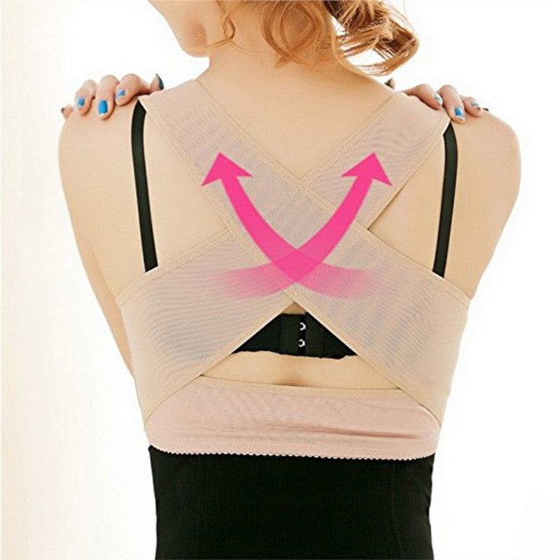Women Back Posture Corrector Hunchback Relief Chest Bra Support for Woman