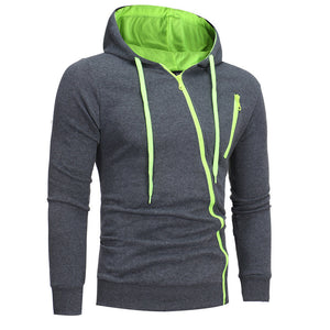 Mens' Long Sleeve Hoodie Hooded Sweatshirt Tops Jacket Coat Outwear - Flickdeal.co.nz