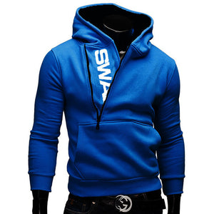 New Fashion Zipper Hoodies for Men Slim Pullover Tracksuit for Men - Flickdeal.co.nz