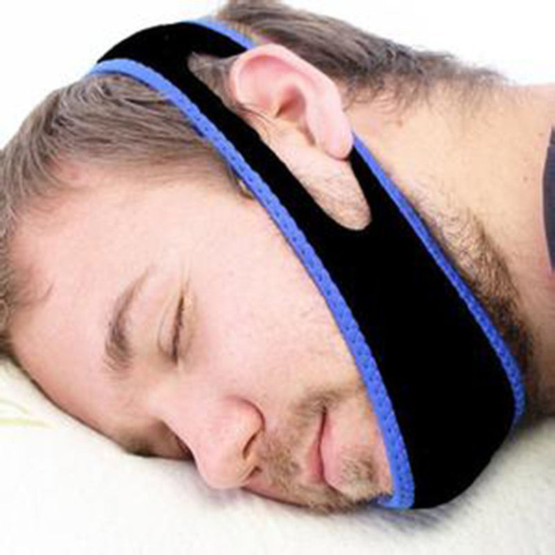 Anti Snore Relief Snore Stopper Chin Strap Belt Sleeping Aid Tool - Flickdeal.co.nz