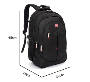 Large Capacity Laptop Backpack for men and Women 15.6 inch Laptop School Bag - Flickdeal.co.nz