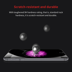 Premium 0.23mm Screen Protector Tempered Glass For iPhone X 8 7 6 6s Plus 3D Frosted Arc Full Cover Protection Glass Film - Flickdeal.co.nz