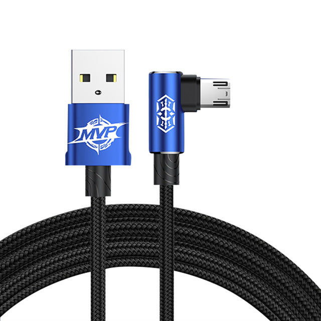 Reversible Micro USB Cable 2A Fast Charging Data sync Microusb Cable For Samsung Xiaomi Huawei Tablet Android Chargers
