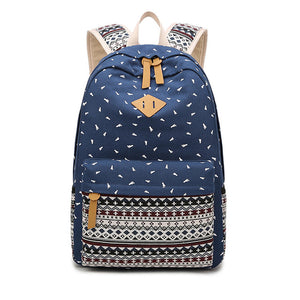School bag for kids Rose red, black blue SB03