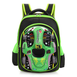 Car styling school bags Children's backpack for boys and girls - Flickdeal.co.nz