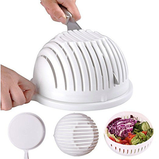 Easy Salad Maker Fruit Vegetable Kitchen Tools Chopper Cutter