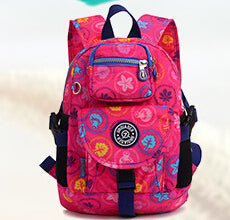 Backpacks For Teenage Girls and Boys Pink Green, Blue School Bag - Flickdeal.co.nz