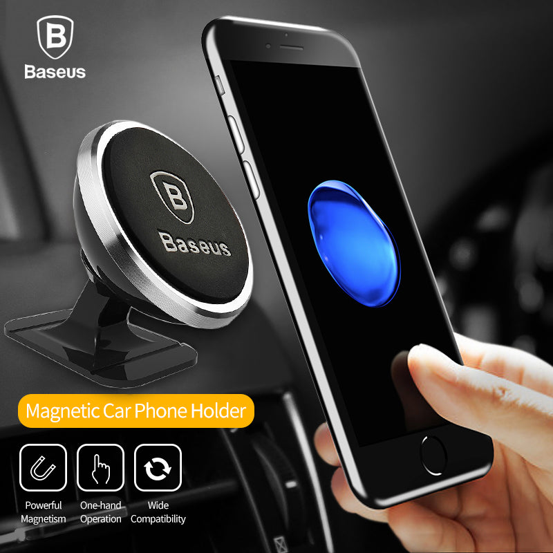 Magnetic Mobile Phone Holder 360 Rotation iPhone and Samsung Phones