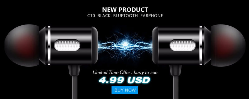 Bluetooth Earphone In-Ear super bass with microphone EP18 - Flickdeal.co.nz