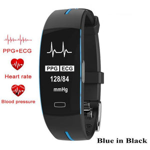 Fitness Tracker ECG+ PPG Blood Pressure Heart rate waterproof Pedometer