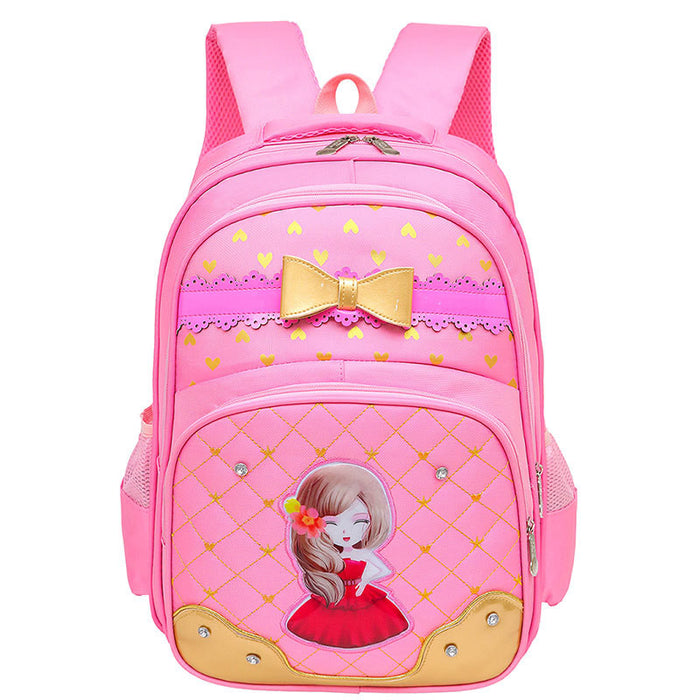 Butterfly Princes Girls School Bags Backpack SB15