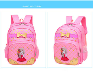 Butterfly Princes Girls School Bags Backpack SB15 - Flickdeal.co.nz