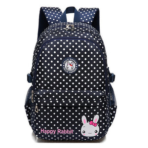 School Backpack for Girls and Boys Rosered Pink SB08