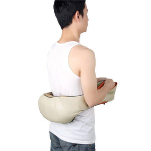 Electric Back Shoulder Kneading Massager Pillow for Neck Waist