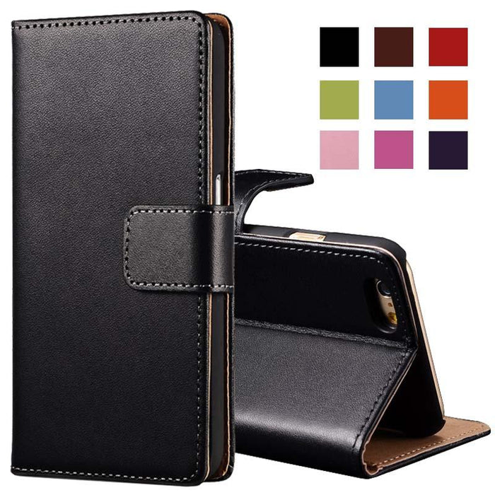 6S/6S Plus iPhone Wallet Case with Kickstand Phone Bag Cover For iPhone With Card Holder