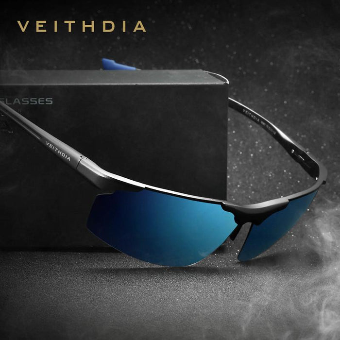 Men's Sunglasses Polarized Sports Blue Coating Mirror Driving Sun Glasses