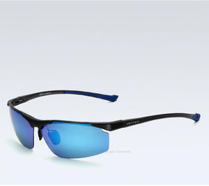 Men's Sunglasses Polarized Sports Blue Coating Mirror Driving Sun Glasses - Flickdeal.co.nz