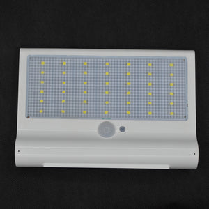 42 LED Waterproof PIR Motion Sensor Solar Power Wall Light - Flickdeal.co.nz
