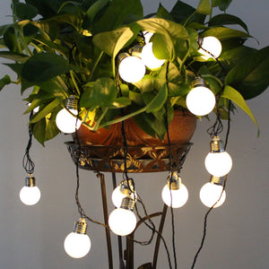 4M/6M Solar Powered Globe Bulbs Led String Hanging Garden Fairy Lights - Flickdeal.co.nz