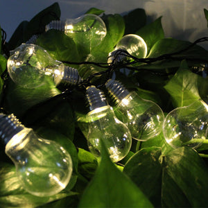 4M/6M Solar Led String Lights Globe Bulbs For Outdoor Lighting - Flickdeal.co.nz