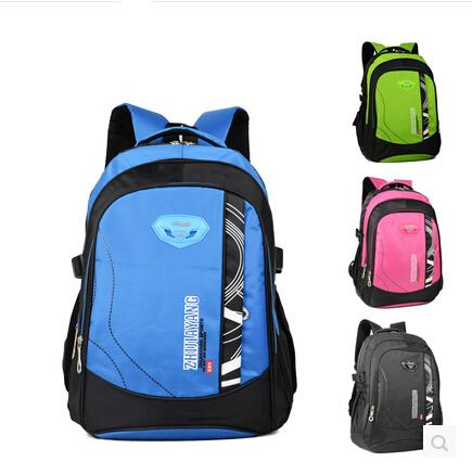 0c3360589c School Bag for Boys Girls - Waterproof Green Pink Lavender and Blue School  Backpack