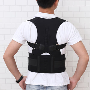 Humpback Correction Brace Posture Back Shoulder Lumbar Support Belt