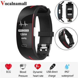 Smart Band Watch Blood Pressure Monitor Heart Rate Sport Fitness Tracker