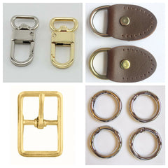 Crafting Hardware and Supplies for all types of Bags, Handbags and Purses