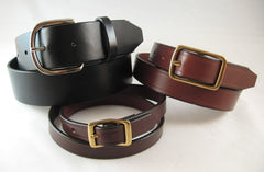 Leather Belts - Men & Womens
