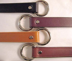 Leather replacement strap choice of colors, widths & lengths
