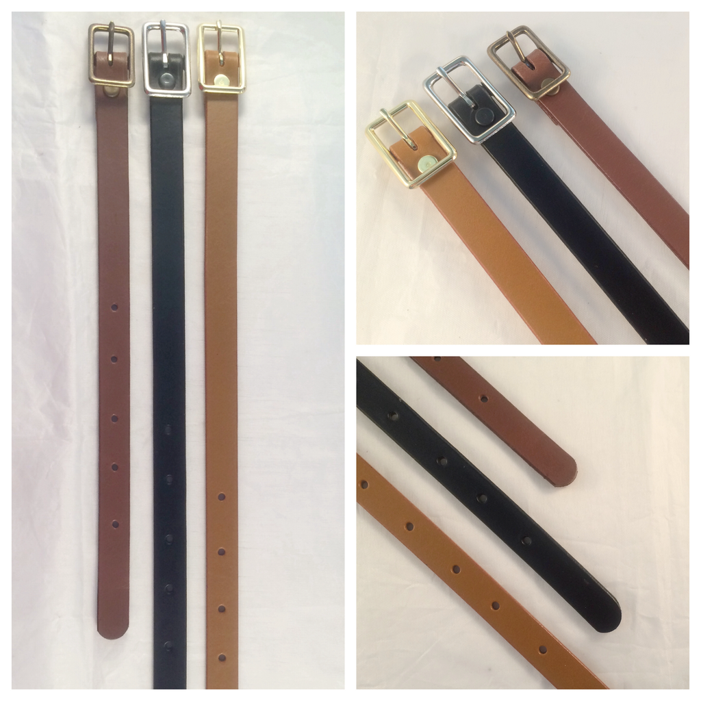 5/8 in. Adjustable Leather Strap Extenders Extensions for Bag Straps - 3 lengths