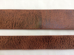 Leather Belt Blank Strip Strap Belt for Crafts 9 oz. Antique Brown