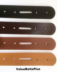 wide leather belt blanks strips