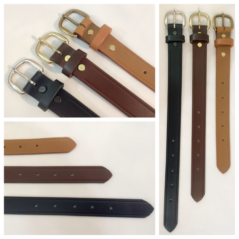 1 in. Adjustable Leather Strap Extenders Extensions for Bag Straps - 3 lengths
