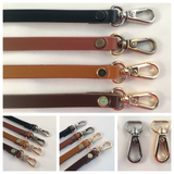 3/8 in. Skinny Narrow Leather Cross Body Hand Bag Replacement Strap