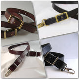 5/8 in. Leather Conway Adjustable Cross Body Bag Replacement Strap Choice of 4 Colors