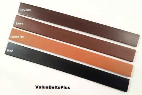 "1"", 1/2"", 3/4"" leather strips choice of widths for crafts, handles, choice of colors"