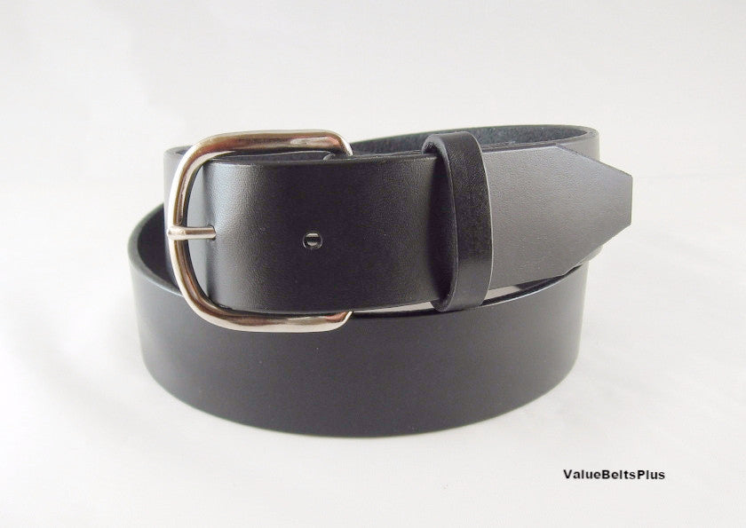 1.5 in. Leather Men's Work Belt Handcrafted