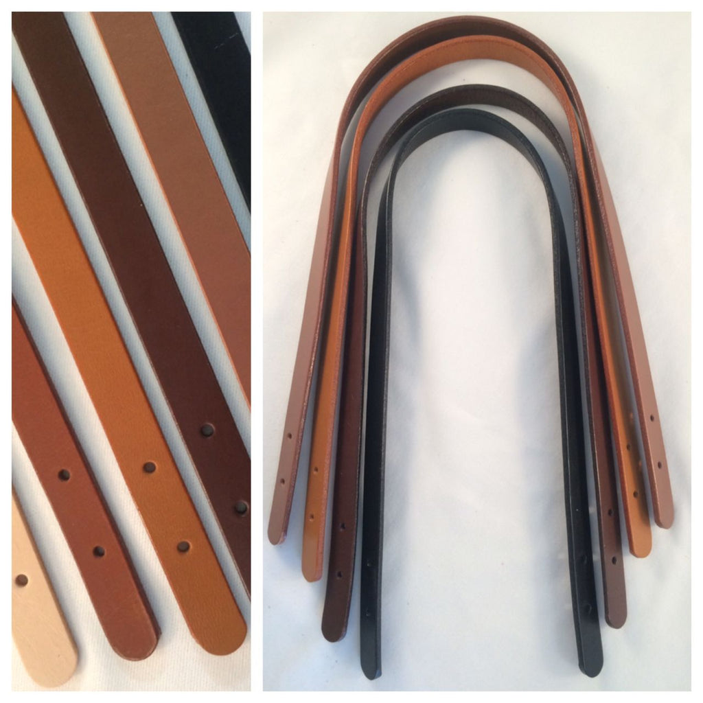 DIY  leather straps for bags, tote bags, purses