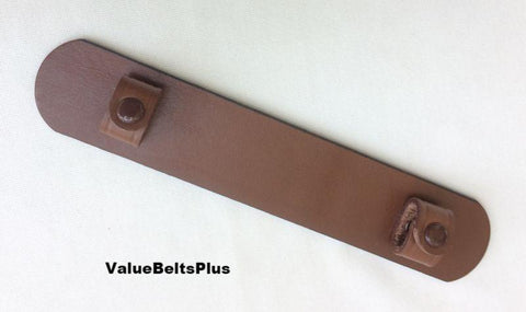 removable leather shoulder pad for bag, luggage or purse straps