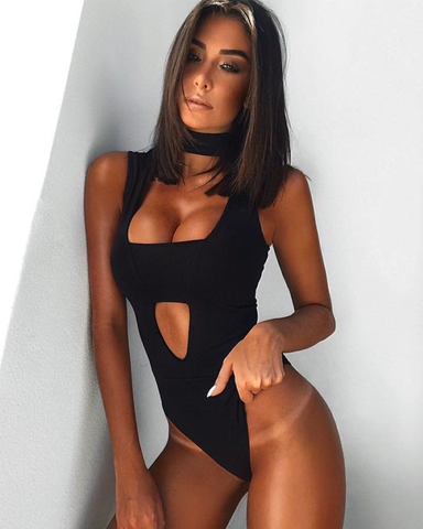 Bella Bodysuit | BLACK