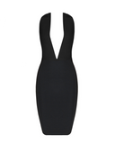 Alizé Crystal Dress | BLACK
