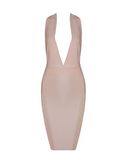 Alizé Crystal Dress | NUDE