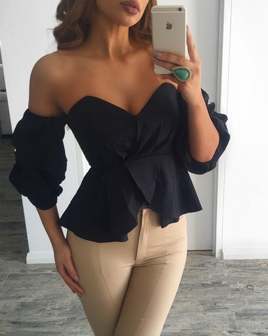 Bailey Ruffle Blouse