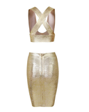 Cara Two Piece | LUXE GOLD
