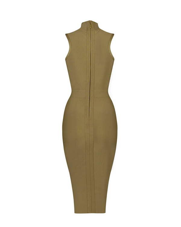 Hollywood Dress | KHAKI