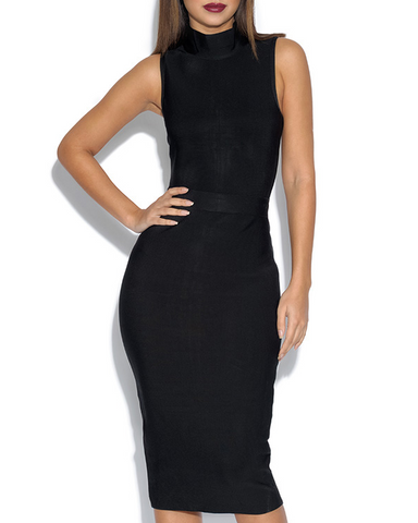 Hollywood Dress | BLACK