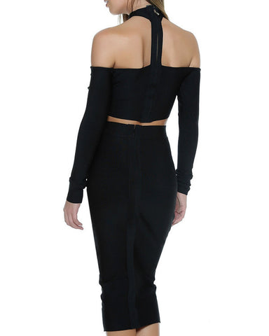 Kylie Choker Two Piece Set