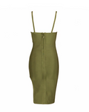 Lexi Mini Dress | KHAKI